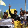 Kathua rape and murder case : Law students protest in Sopore