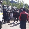 Handwara's Rajpora village decry water shortage, stages protest