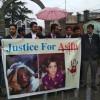 Kashmir lawyers protest blocking of challan in Kathua rape, murder case
