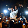 Rahul Gandhi leads midnight candlelight march over rape cases