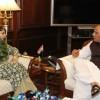 Mehbooba meets Rajnath, discusses Kashmir situation