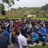 Three days on, AJKPA Budgam continue to press for their demands