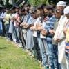 Funeral prayers in absentia offered for slain civilians, militants post Friday prayers in Srinagar ( KV Photo)