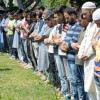Funeral prayers in absentia offered for slain civilians, militants post Friday prayers in Srinagar ( KV Photo)