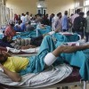 Hospital ward that is a living witness to pellet horror