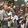 MLA Langate leads anti-army protest at Bla