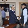 B V R Subrahmanyam assumes office as Chief Secretary of J&K