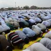 Eid prayers in Eidgah Srinagar at 9 am