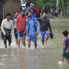 Incessant rains and rising water levels in Jehlem inundates Bemina areas- KV Photo