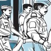 Under trial escapes from police custody