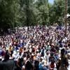 Thousands attend last rites of slain cops
