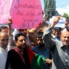 Lawmaker leads protest against Lal Singh's threat to Valley journalists