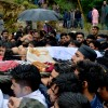 Another day, another funeral; Victim: 15 year Old, sustained bullet injuries in gunfight between militants and government forces at Thumna village of Pulwama on Friday