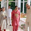 Sharmila Tagore meets Governor, First Lady