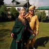 Fabulous: A Polish couple had everything 'Kashmiri' on their wedding reception