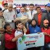 J&K Bank wins 16th J&K Police Martyr's Memorial Football Tournament 2018 – Trophy
