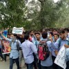 Students protest against civilian killings in Kupwara