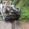 Seven passengers injured in Uri road mishap