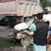 6 injured in road accident at Pampore