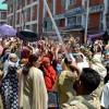 Anganwadi workers, helpers protest against CDPO Bijbehara