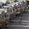 Truckers' strike continues on day two, gets mixed response
