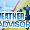 Admin issues weather advisory