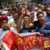 Toying with Article 35-A: Trade bodies start week-long protest