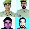 BLOOD SOAKED WEDNESDAY: Four cops, two militants killed