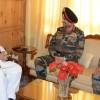 Northern Army Commander meets Governor Malik