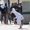 Protests erupt in Nowhatta post Friday prayers