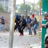 Several injured during clashes, youth hit by bullet
