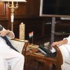 Guv meets Rajnath, discusses Kashmir situation