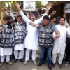 JKNPP stages protest to press for dissolution of Assembly'