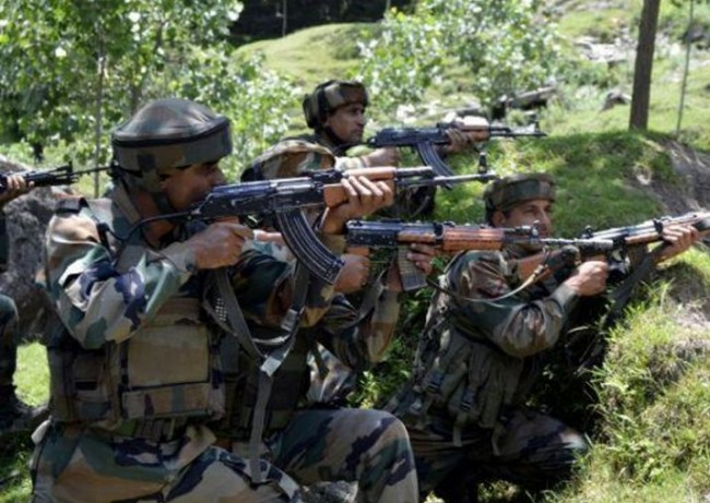 army claims foiling bat attack in nowgam sector says 2 pak army men