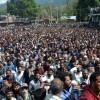 Thousands attend funeral prayers