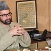 Leadership will lead people's agitation if demography is changed: Mirwaiz