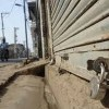 Sopore remains shut on third straight day
