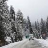 Mughal road closed as high altitude areas experience fresh snowfall