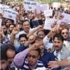 Govt has played cruel joke with us, yet to implement promised 7th pay commission, de-linking of salary: ReT, protest in city center