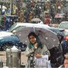 Weatherman predicts rain, snowfall on Monday