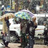 Fresh snowfall in higher reaches of Kashmir