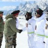 Northern Army commander visits Siachen
