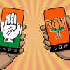 Exit polls predict neck to neck fight between BJP-Congress