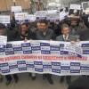 KCC&I protest against HR violations in J&K