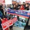 NHM employees start hunger strike, say Govt not willing to listen